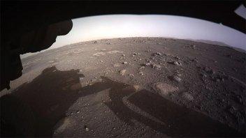 El rover de la Nasa envió una grabación con los sonidos de Marte