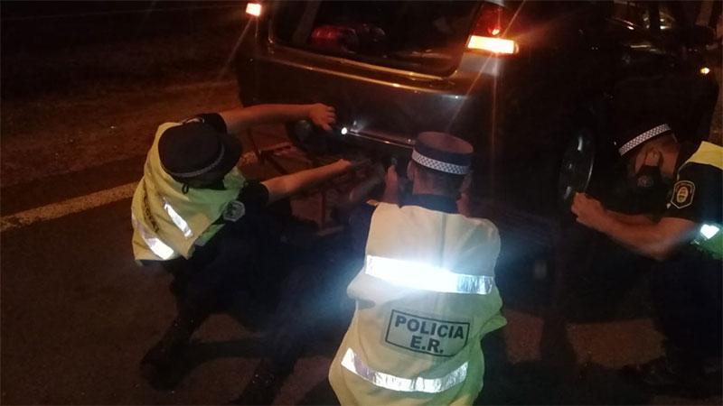Intentaron ingresar a Entre Ríos con más de cinco kilos de pasta base de cocaína