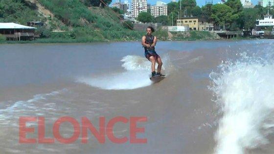 """Paraná se prepara para el campeonato de Wakeboard: """"Será una fiesta en el agua"""""""