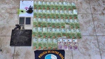 Trece procedimientos antidrogas: Incautan cocaína, marihuana y dinero