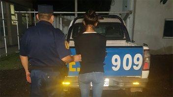 Entró a casa por la fuerza y su mujer lo apuñaló: ella detenida y él internado