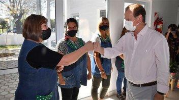 Bordet ratificó la continuidad del diálogo con el sector docente