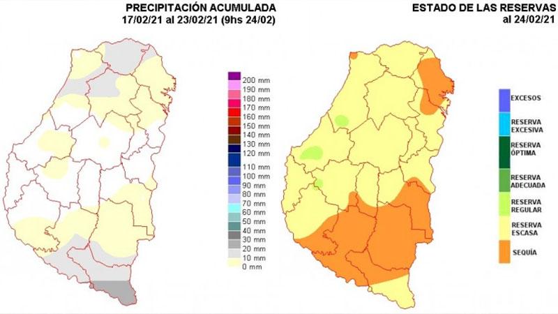 Escenario poco alentador: avance de la sequía vuelve a preocupar en Entre Ríos