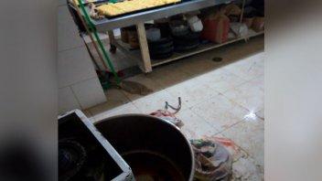 Niño padeció heridas en sus piernas al quedar atrapado en una amasadora de pan