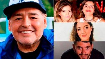 Se conocieron audios de los hijos de Maradona discutiendo sobre la herencia
