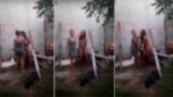 """Aberrante: """"por venganza"""" desnudaron y filmaron a joven indefensa en Concordia"""