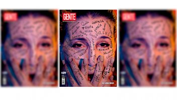 Florencia Peña se defendió de las críticas por tapa sobre violencia de género