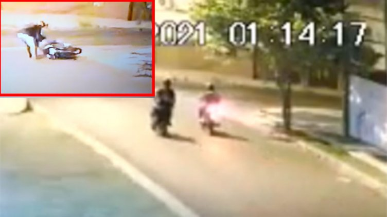 Video: Intentaron asaltar a una mujer que trabaja de delivery en Paraná