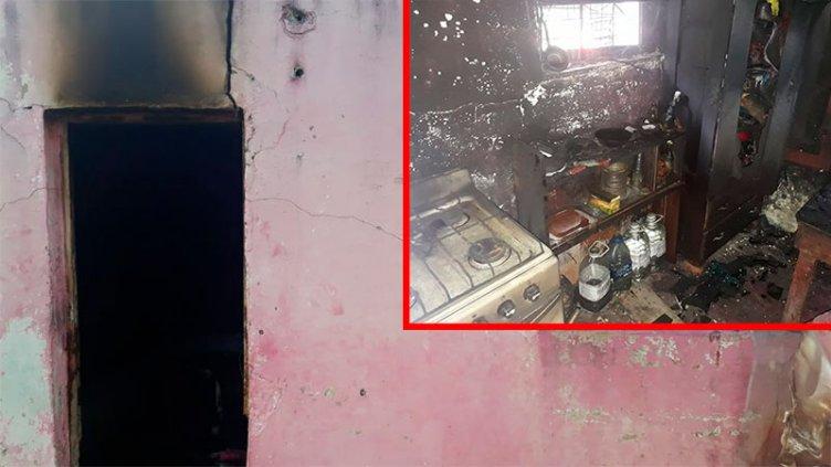 Denunció que su ex pareja le incendió la casa: Perdió todo y necesita ayuda