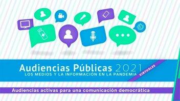 Inscriben para la audiencia pública de servicios de comunicación audiovisual
