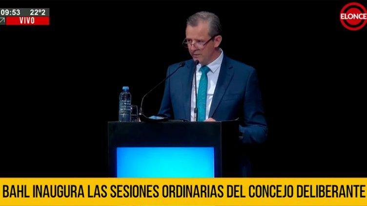 """Bahl: """"Ordenar financieramente el municipio fue una de las prioridades"""""""