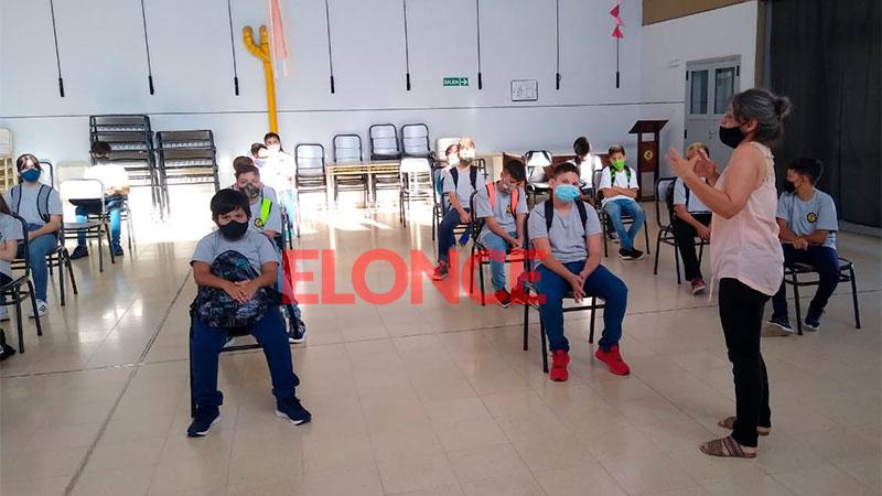 Inicio de clases en la Escuela Técnica Nº 21