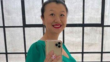 Karina Gao contó su experiencia al despertar del coma y cómo va el embarazo