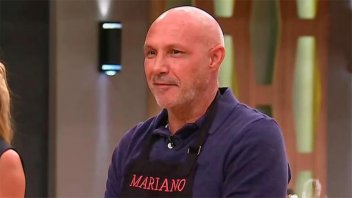 Mariano Dalla Libera fue el primer eliminado de Masterchef Celebrity