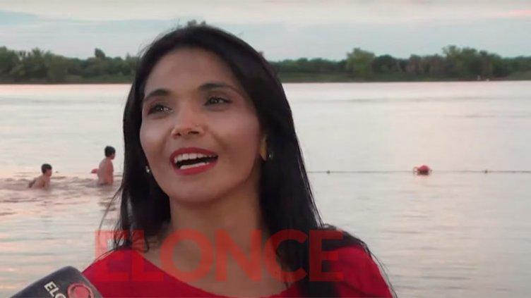 Música en la playa: María Cuevas anunció su nuevo disco y cantó por Elonce TV