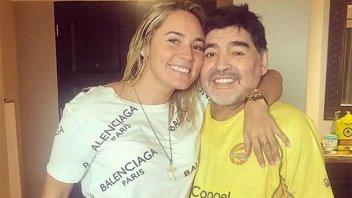 Rocío Oliva piensa sacar un libro sobre Diego Maradona