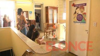 La Clínica Escolar de Paraná atiende entre 10 y 15 turnos programados por día