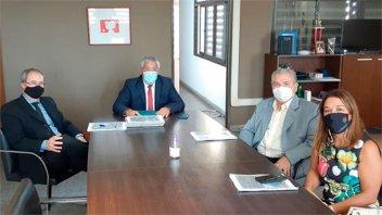 Autoridades de Iosper informaron a magistrados la situación de la obra social