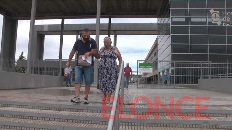 Mayores de 70 que se vacunaron en La Baxada destacaron la rapidez del operativo