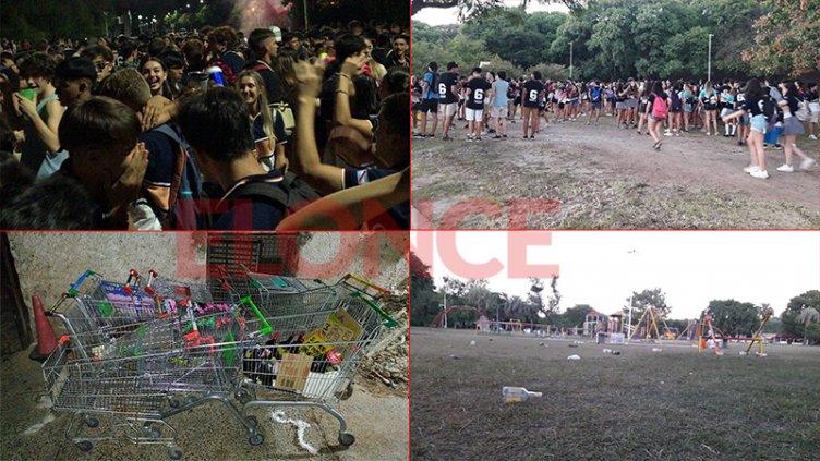 Los festejos del Último Primer Día en Paraná se extendieron hasta la mañana