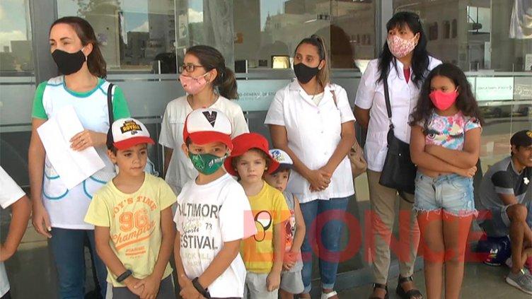 Para el regreso a clases, escuela de Paraná volvió a reclamar mejoras edilicias