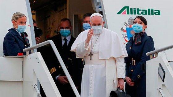 El papa Francisco comenzó su histórica visita a Irak