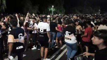 Videos: Alumnos festejaron en Paraná el Último Primer Día