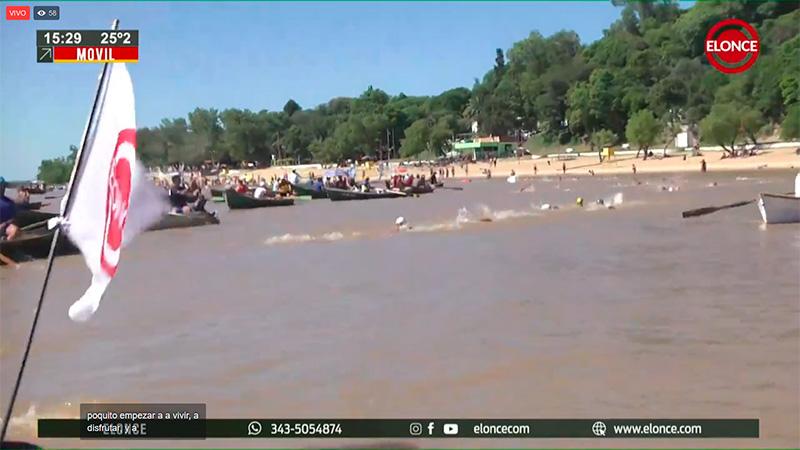 Se corre la Maratón Villa Urquiza-Paraná: Elonce TV transmite en vivo