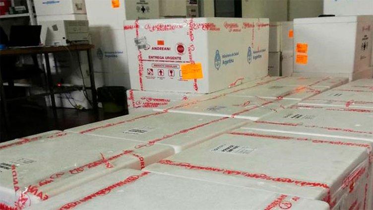 Llegaron a Entre Ríos otras 25.000 dosis de Sinopharm y Sputnik