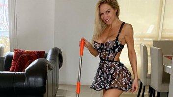 Luciana Salazar sorprendió con un osado topless