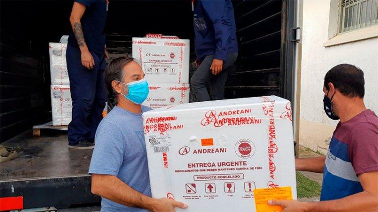 Distribuyen 489.600 dosis de Sputnik V: cuántas llegarán a cada provincia