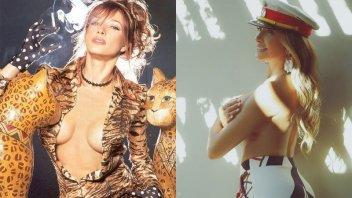 Cathy Fulop derrocha sensualidad: foto retro y consejos para hacer ejercicio