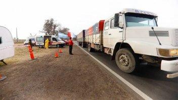 Tras una semana de protestas, Camioneros liberó paso fronterizo a Brasil