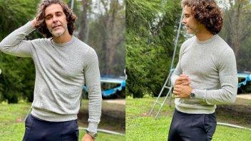 ¿Fotos retocadas?: el ajustado pantalón de Mariano Martínez desató un debate