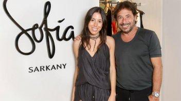 """Carta de Ricky Sarkany a Sofía: """"La eternidad sería poco para compartir con vos"""