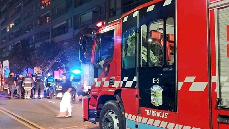 Una nena cayó del quinto piso y está grave — Conmoción