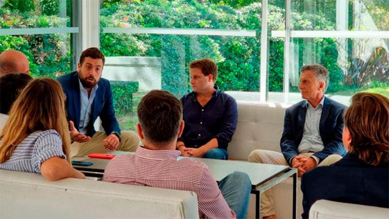 Macri en la reunión en la que estuvo el diputado que dio positivo