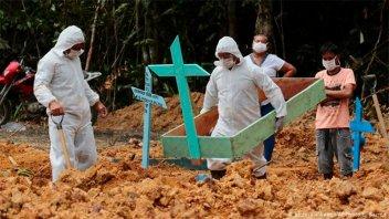 Alarma en Brasil por el primer caso de