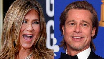 Aniston respaldó a Brad Pitt ante las acusaciones de Jolie por violencia