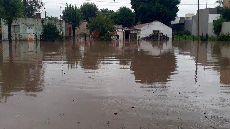Llovió más de 180 mm en zona de Entre Ríos: Registros por departamento
