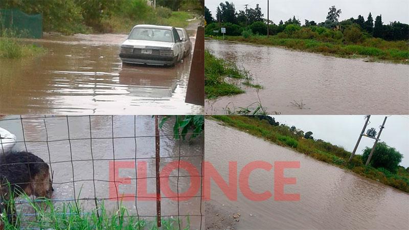 Intensas lluvias y calles anegadas en Paraná: cayeron más de 70 milímetros