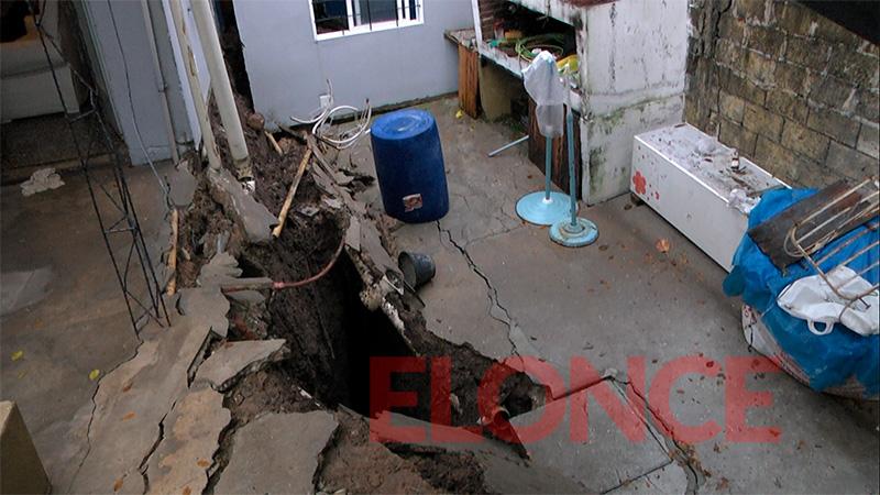 Desmoronamientos de viviendas tras el temporal: testimonios de los damnificados