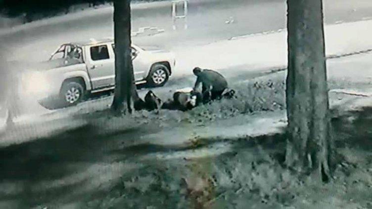 Video: Bombero entrerriano asistió y acompañó a un joven que sufría convulsiones
