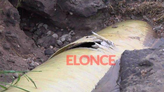 Corte en el suministro de agua afecta a la ciudad: reparan cañería en Toma Nueva
