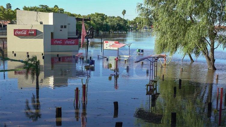 Creciente del río Gualeguaychú: organizan operativos por eventuales evacuados