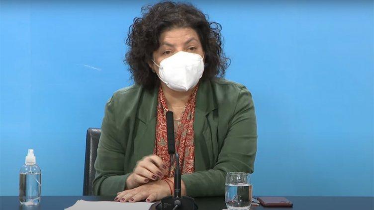 """Coronavirus: """"Estamos en un momento crítico"""", dijo Vizzotti"""