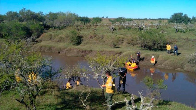 Hallaron el cuerpo del joven que cayó a un arroyo y fue arrastrado por el agua