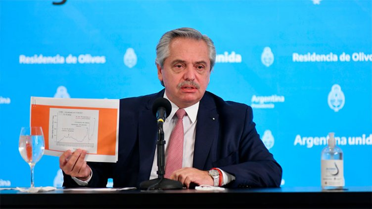 Fernández ratificó las medidas en AMBA y dijo que