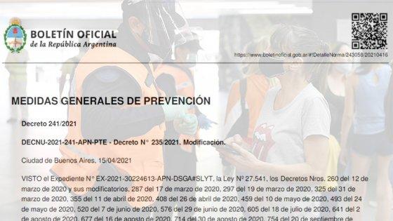 Oficializaron las nuevas restricciones para el AMBA: qué dice el decreto