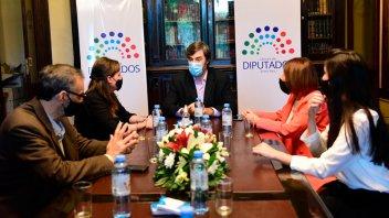 Diputados firmó un convenio con la secretaría de Cultura y el Museo